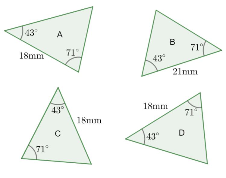 Geometry Higher Revision Card Answers