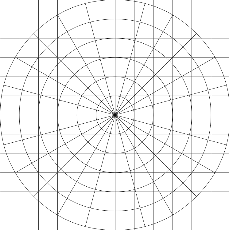 polar coordinate graph paper - Fast.lunchrock.co