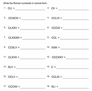Roman numeral dates worksheet 40 multiplication challenges ibookread ePUb