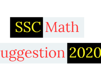SSC Math Suggestion 2020 PDF All Education Board