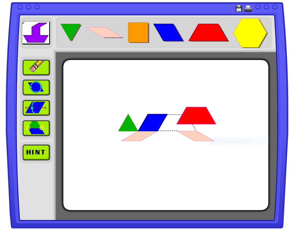 Virtual Pattern Blocks