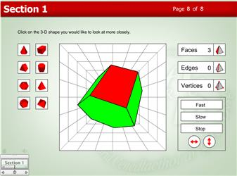 Interactive Maths Game 3d Shapes - free online geometry ...