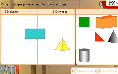 3d Shape Sorting Games Ks1 - geometry and measures ...