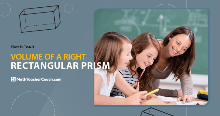 How to teach Volume of a Right Rectangular Prism, volume of a right rectangular prism, find the volume of a right rectangular prism, formula for volume of a right rectangular prism