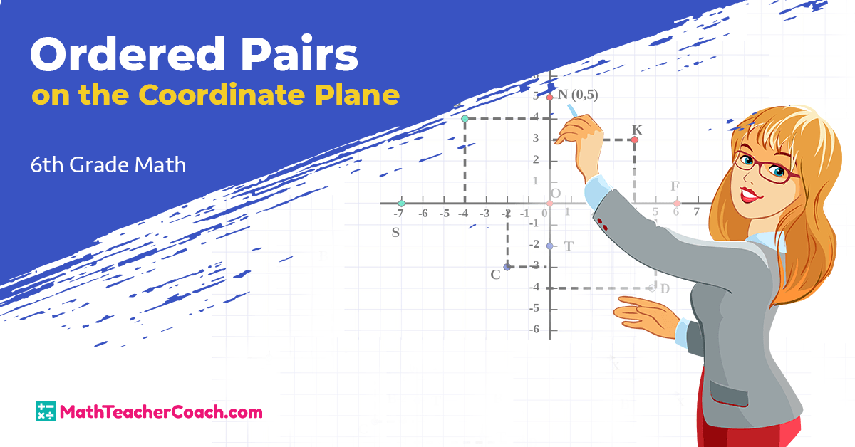 Ordered Pairs on the Coordinate Plane Activity