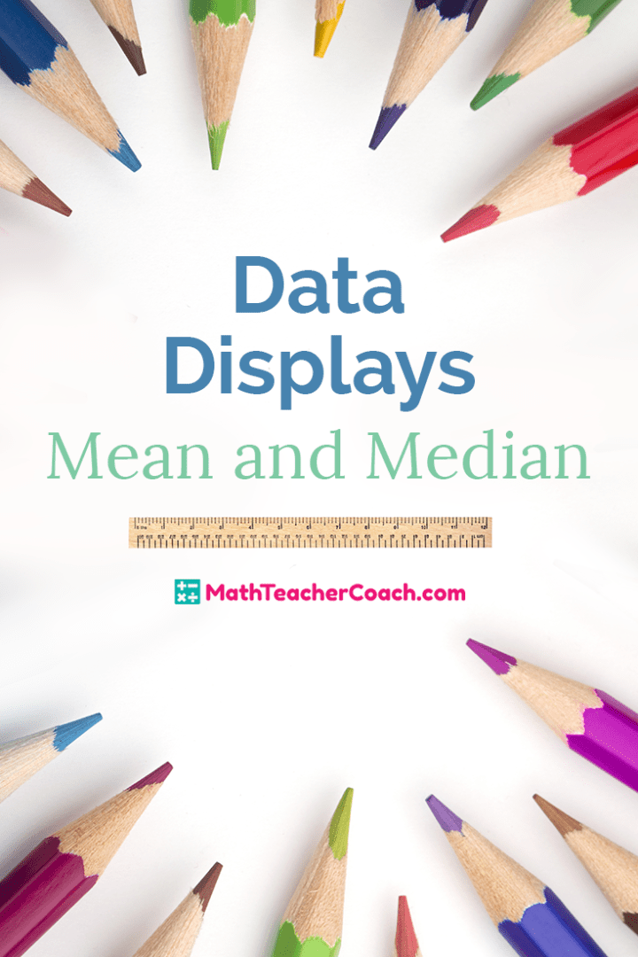 Free 6th Grade Math Activity Data Displays Mean and Median