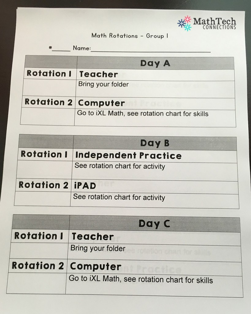 medium resolution of How to Plan \u0026 Organize Your Guided Math Groups – Math Tech Connections