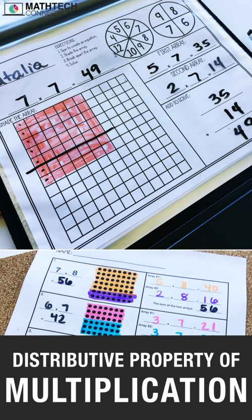 small resolution of 4 Activities to Review the Distributive Property of Multiplication – Math  Tech Connections