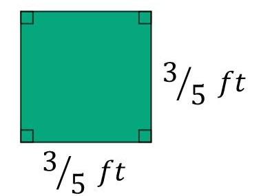 s = 3/5ft