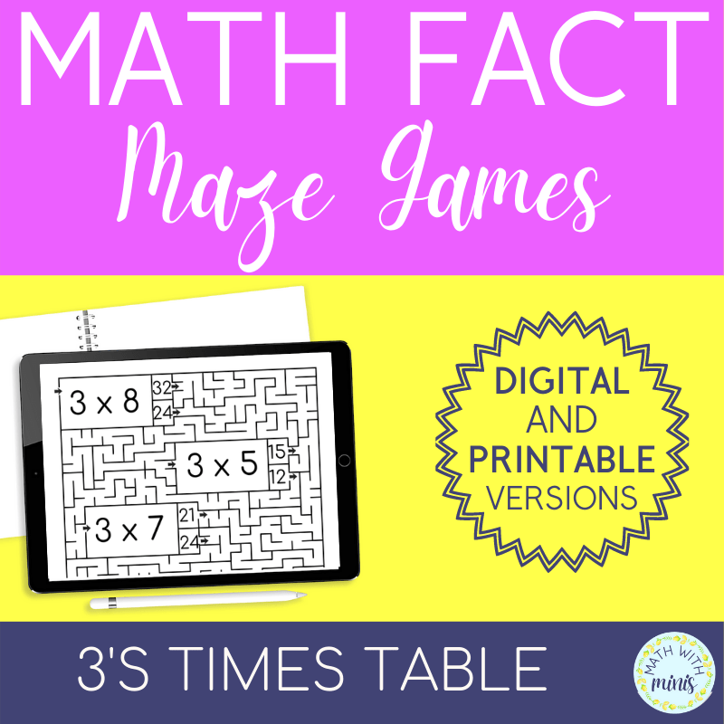 An example of a resource I created | Why I Decided to Specialize in Math