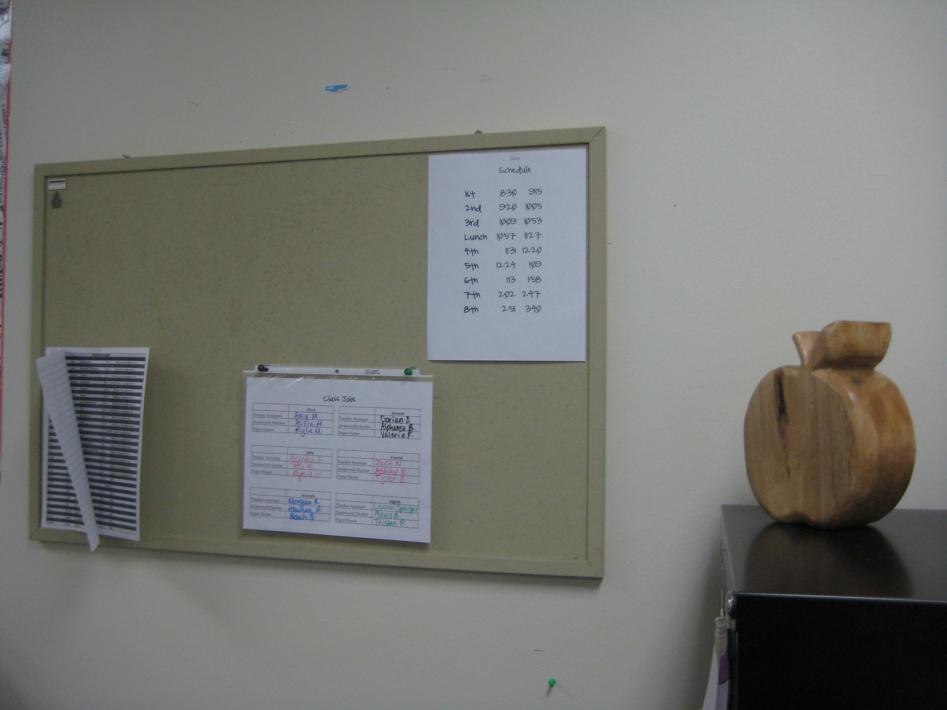 Classroom Pictures