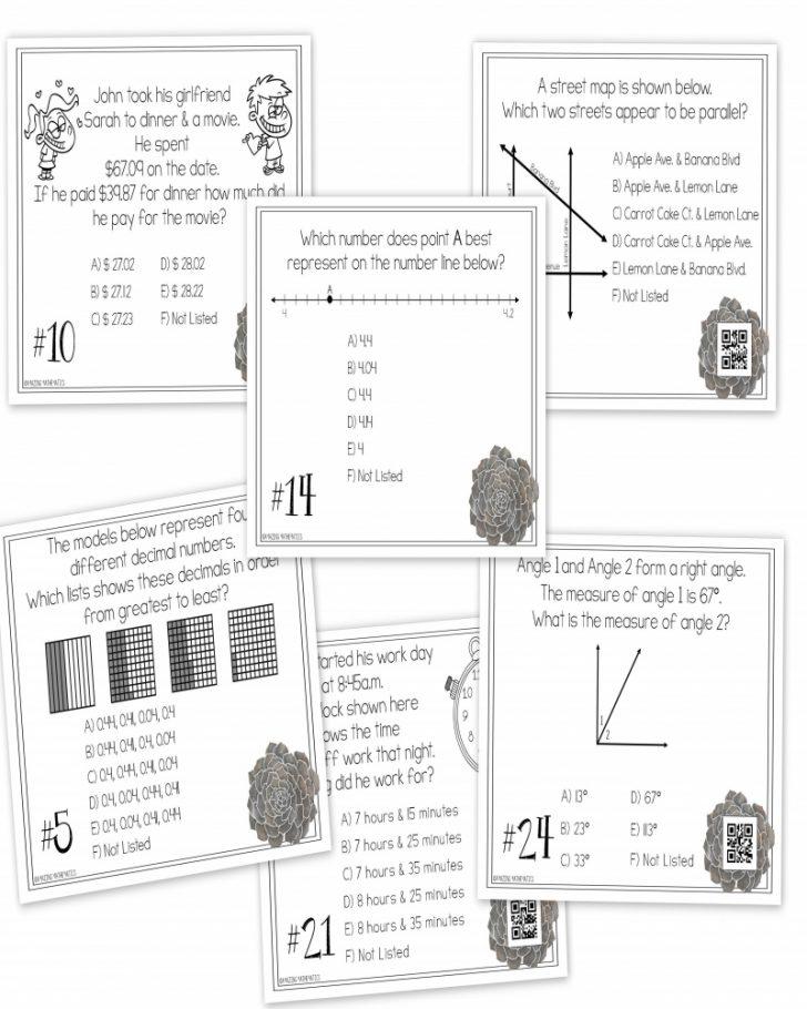 4Th Grade Math Staar Review & Prep