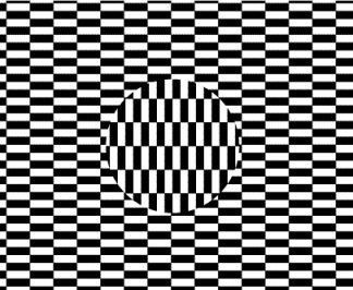 ouchi illusion from wolfram