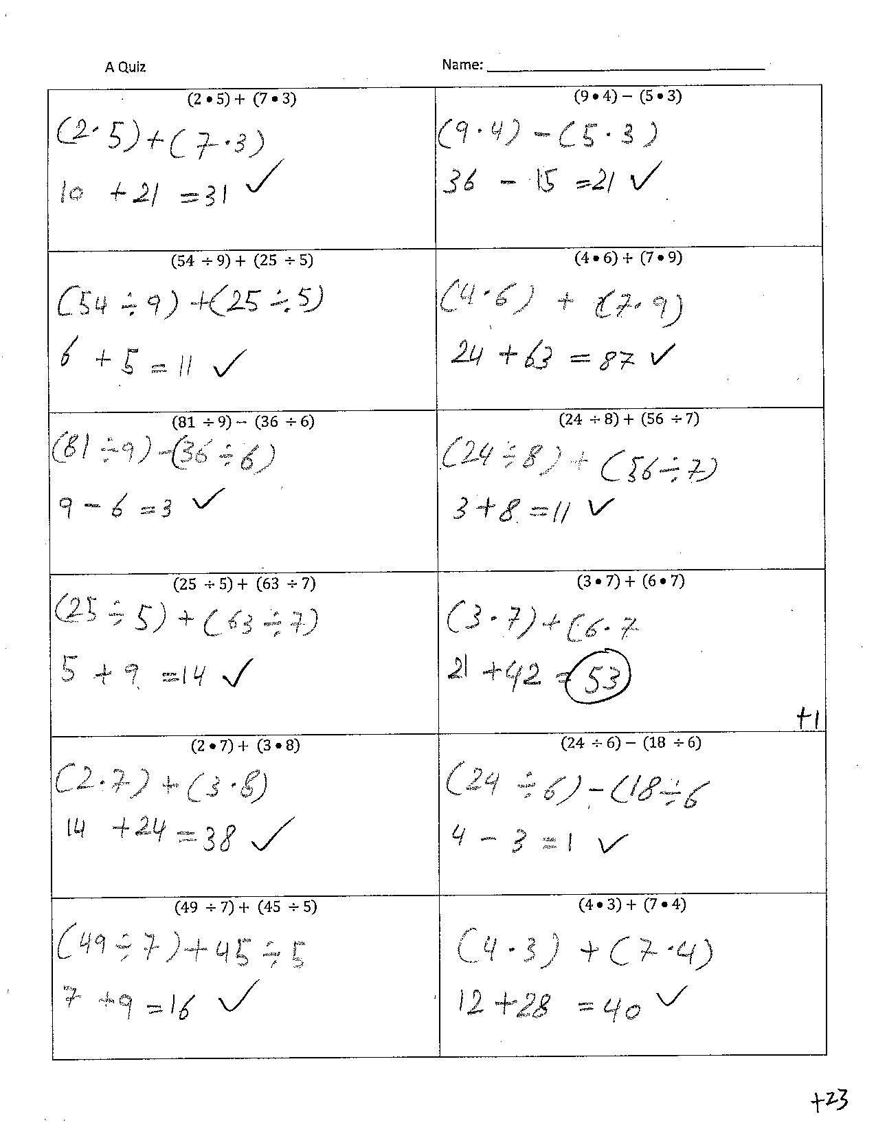 Pre Algebra With Pizzazz Answer Key Page 212