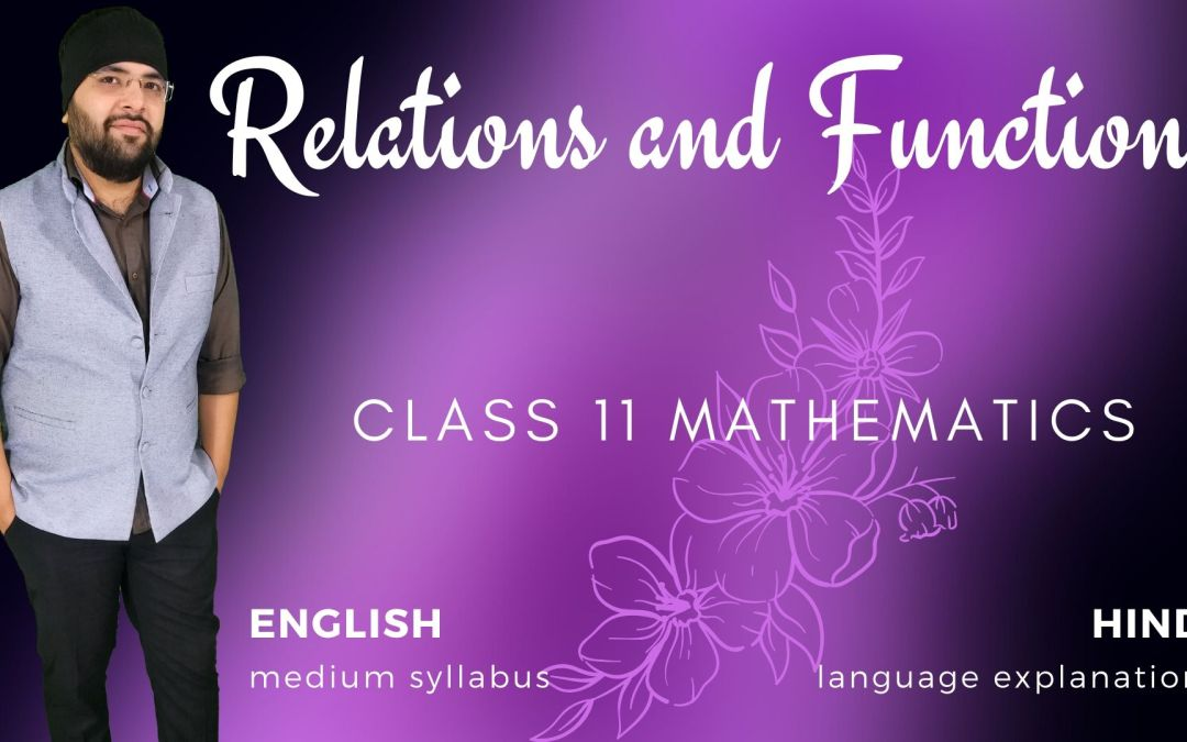 Ch02. Relations and Functions – 1Y