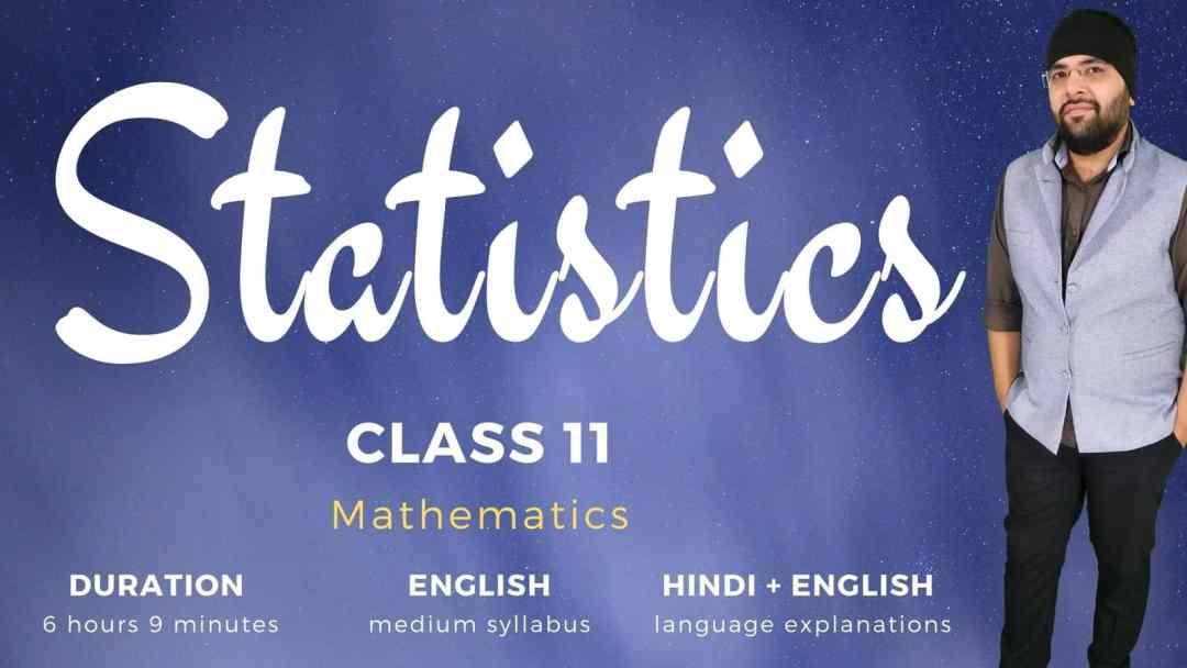 Statistics Class 11 Maths 1600px