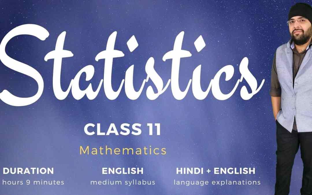 Ch15. Statistics – 1Y