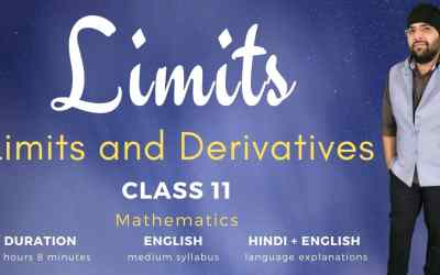 Ch13. Limits (Limits and Derivatives Part -1) – 1Y