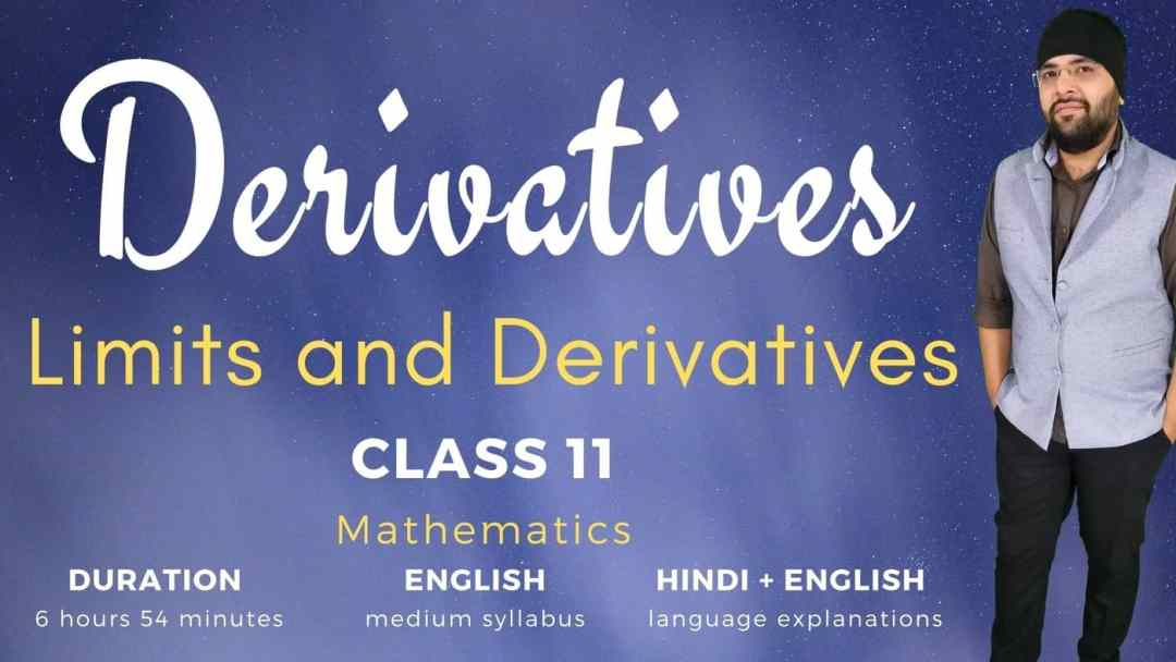 Derivatives Class 11 Maths 1400px