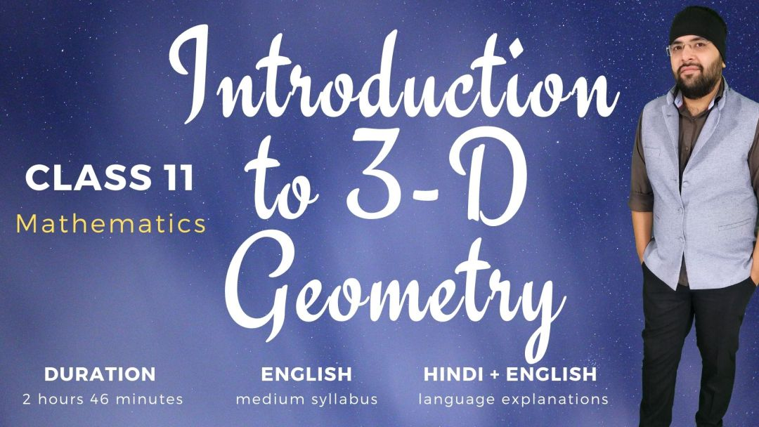 Introduction to three dimensional geometry Class 11 Maths