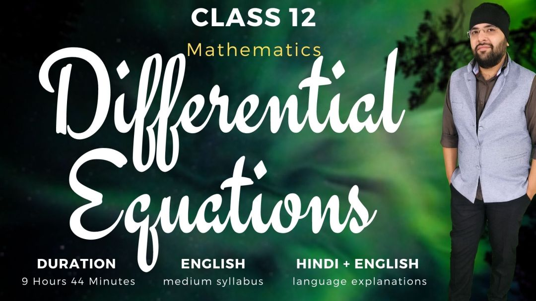 Differential Equations Class 12 Maths v1