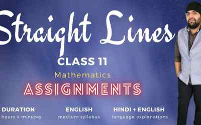 Ch10. Straight Lines Assignments – 1Y