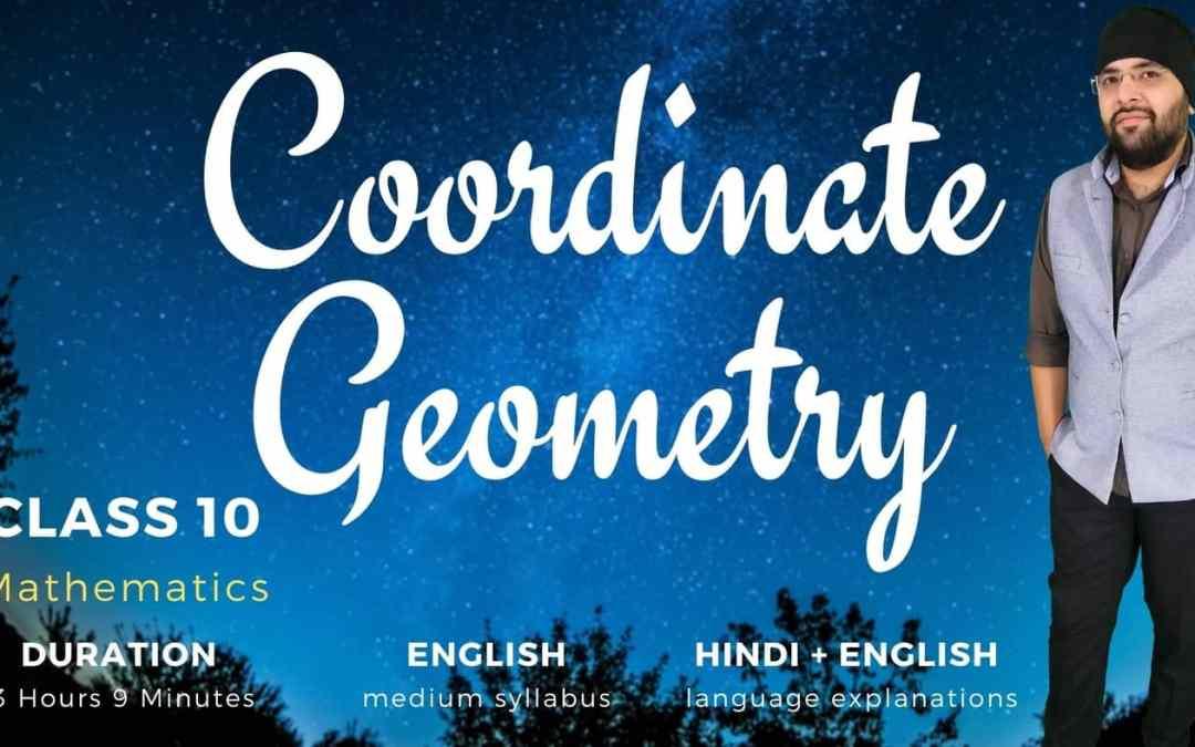 Ch7. Coordinate Geometry