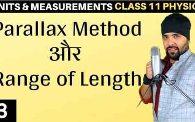 L3 – Parallax Method Units and Measurements