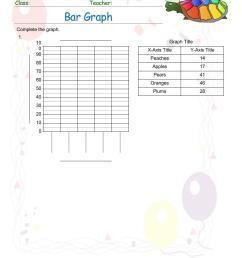 Free Graph Worksheets pdf printable   MATH ZONE FOR KIDS [ 1100 x 850 Pixel ]
