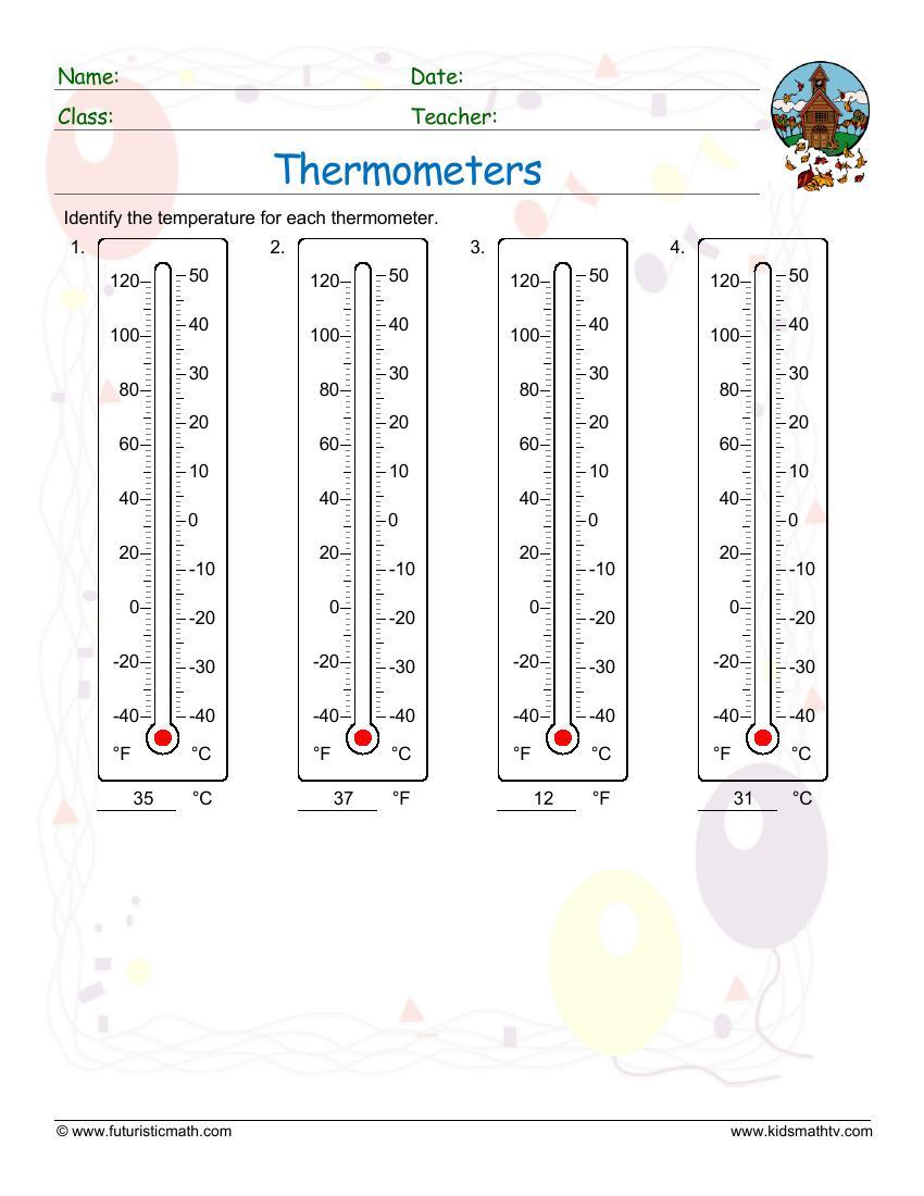 medium resolution of Measurement Math Worksheets pdf printable   MATH ZONE FOR KIDS