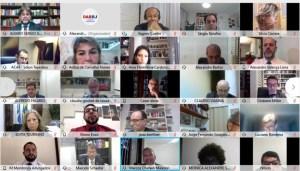 MATI participa de audiência pública pela retomada das atividades presenciais no TRT1