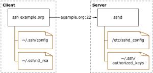 ssh cliente servidor