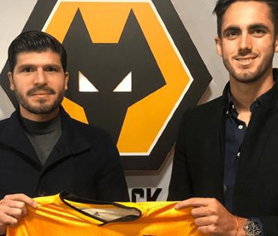Campana firmó un contrato con Wolverhampton de Inglaterra.