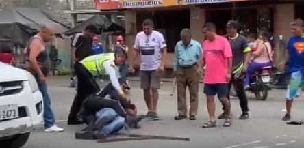 AGRESOR DE VIGILANTES SERÁ JUZGADO POR ATAQUE Y RESISTENCIA