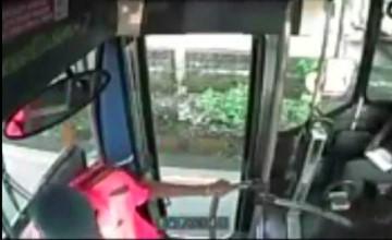 roban en bus urbano