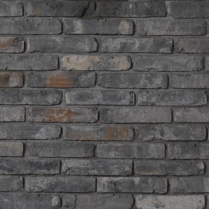 brique de parement ancienne anthracite matiera