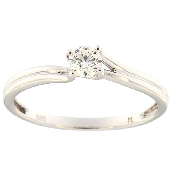 cd30b777eab Kullast sõrmus teemantiga 0,19 ct. Kood: 161ak - MATIGOLD - Mati Kullaäri