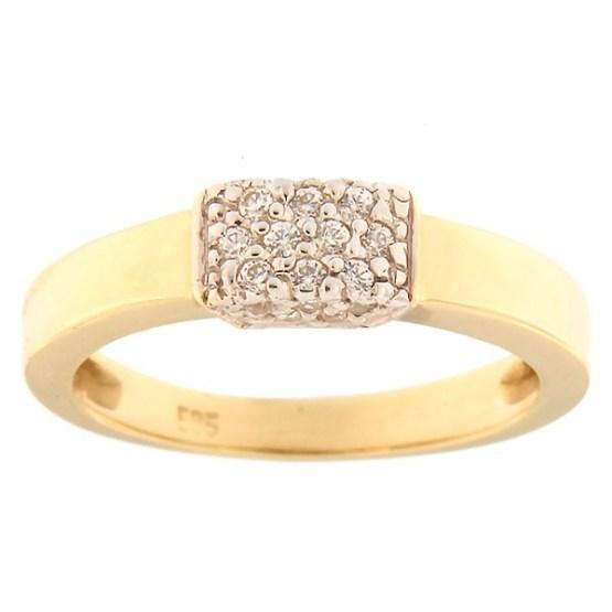adc9d8ec099 Home / Jewelery / Gold jewelry / Kullast sõrmus tsirkoonidega Kood:  484epp531