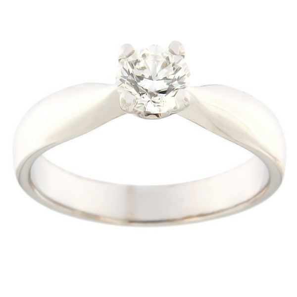 Gold ring with diamonds 0,50 ct. Code: 4br