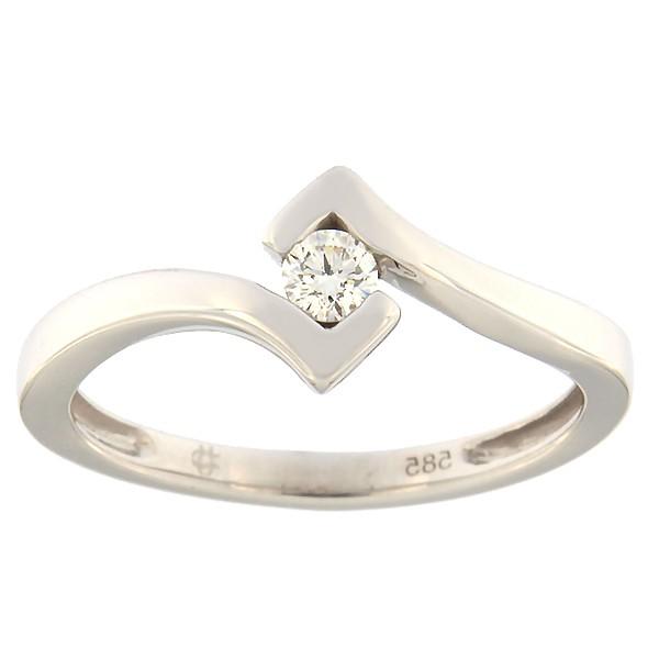 Kullast kihlasõrmus teemantiga Kood: 84af
