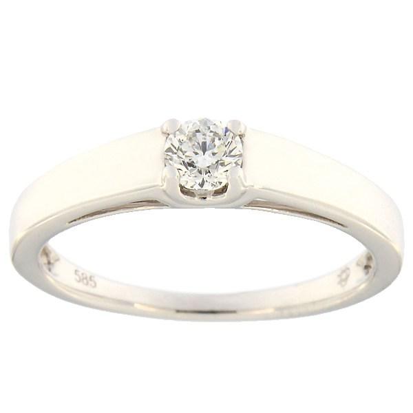 325da495344 Kullast sõrmus teemantiga 0,25 ct. Kood: 86af · Esileht / Ehted /  Kihlasõrmused ...