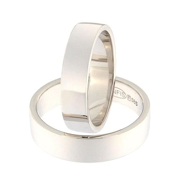 Золотое обручальное кольцо Kод: rn0167-5-v