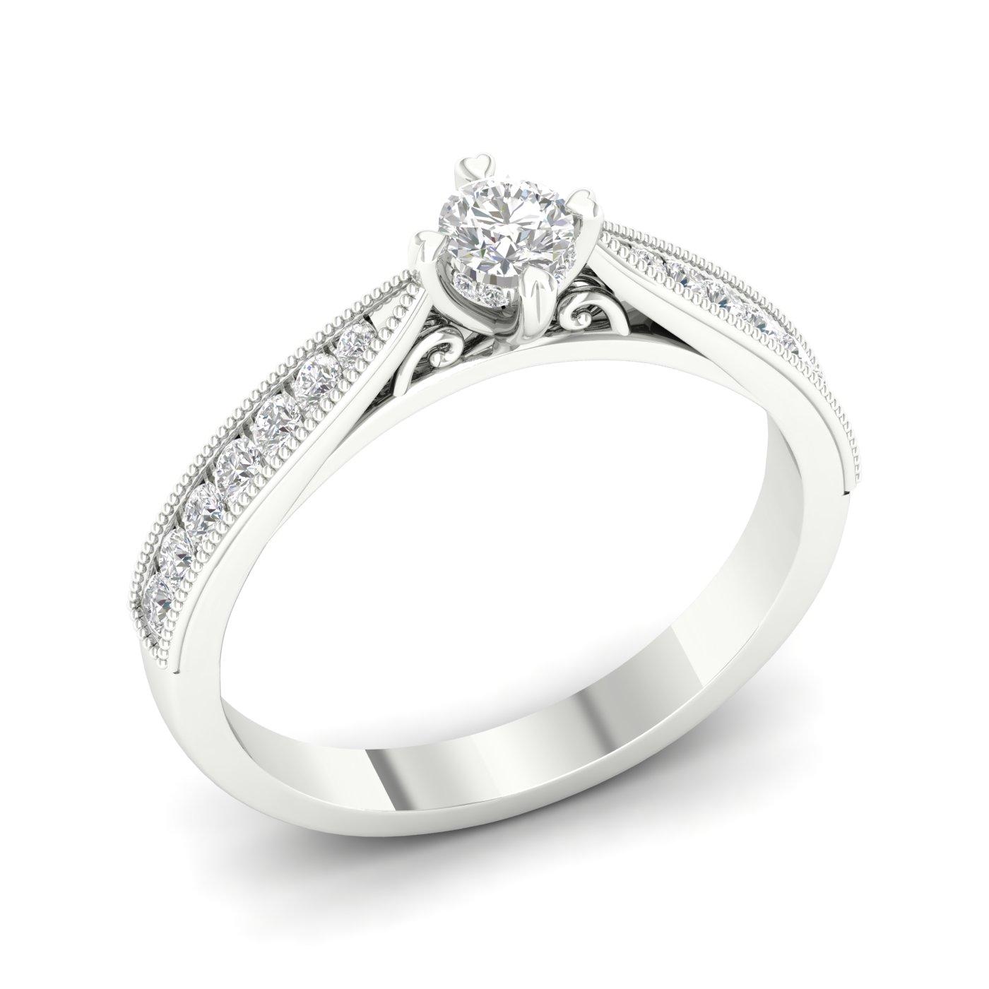 57ddca50ab8 Esileht / Ehted / Kullast ehted / Sõrmused / Teemantidega / Kullast sõrmus  teemantidega 0,50 ct. Kood: 20hb-rs0079