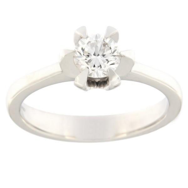 Золотое кольцо с бриллиантами 0,50 ct. Kод: acredo3