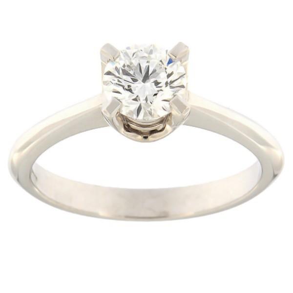 Gold ring with diamonds 0,70 ct. Code: e8009uni