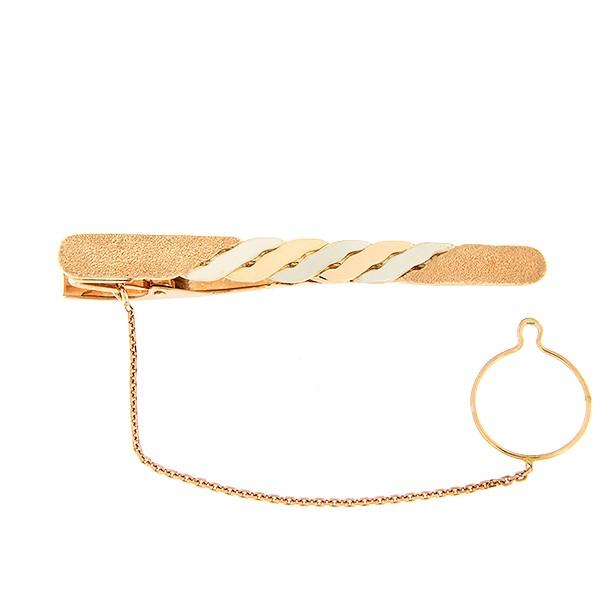 Золотая булавка для галстука Kод: j00640