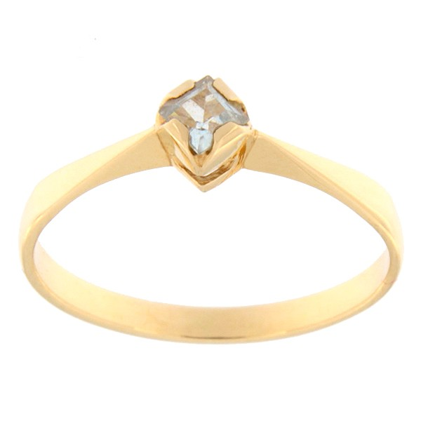 Kullast sõrmus topaasiga Kood: rn0135-topaas