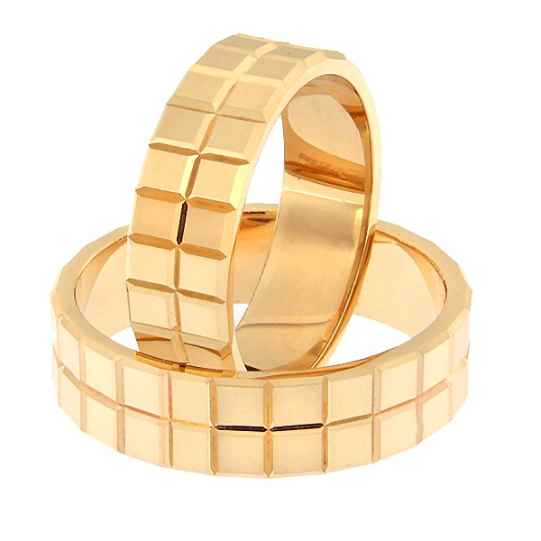 Gold wedding ring Code: rn0157-6