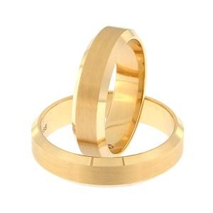 Золотое обручальное кольцо Kод: rn0169-5-km1