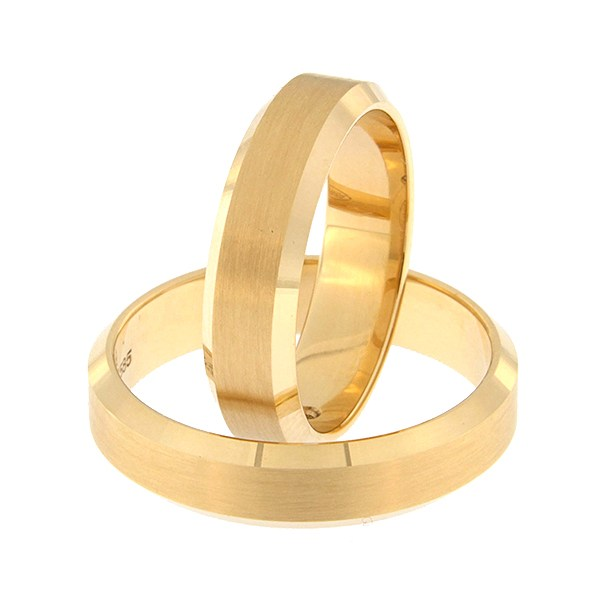 Gold wedding ring Code: rn0169-5-km1